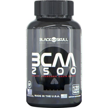 Bcaa 3:1:1 120 caps - Black Skull