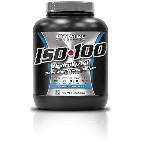 ISO 100 Whey Protein Isolado 100% Hidrolisado - 1.360g – Dymatize Nutrition