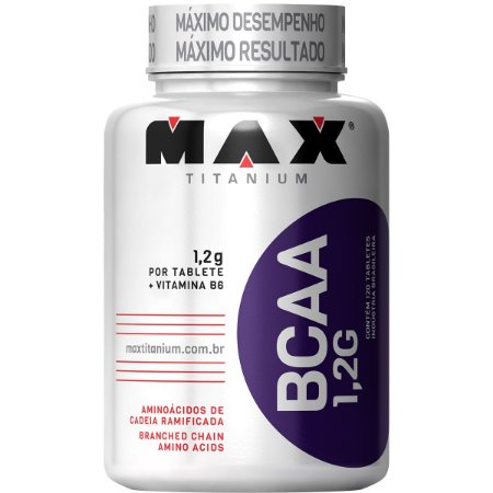 BCAA 1,2g 120 Tabs - Max Titanium
