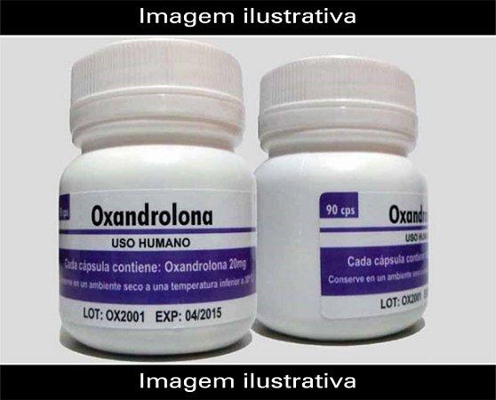 Oxandrolona 90 caps 10mg / 20mg - Manipulada