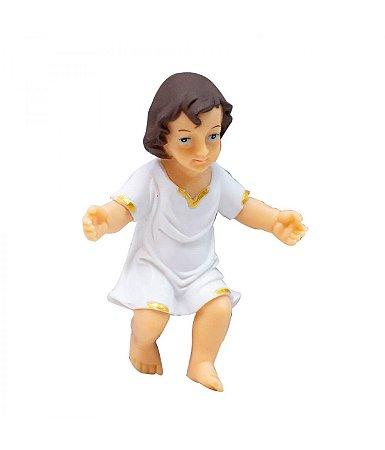 Imagem Menino Jesus 7,5cm Resina Importada Presépio