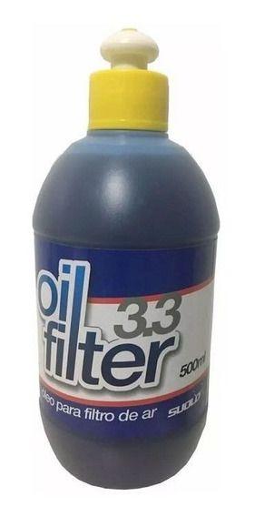 Óleo Para Filtro De Ar Suolo 500ml Oil Filter 3.3