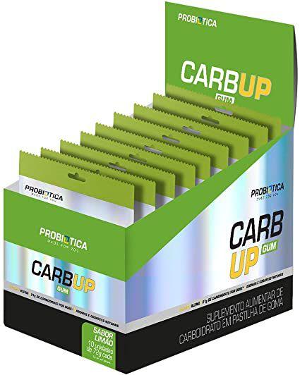 Carb Up Gum - 18 Gomas - Probiótica - CAIXA (10 UN.)
