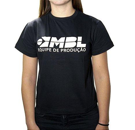 Camiseta Feminina Equipe de Produção MBL