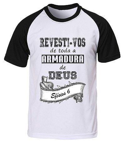 6fad895aa Camiseta Evangélica Gospel Raglan Personalizada - Edu Arte Sublimação