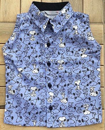 Camisa Regatinha  Snoopy
