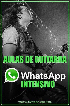 WhatsApp Intensivo - 2 aulas/semana + método de guitarra de brinde