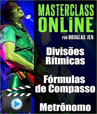 Masterclass online - Divisões Rítmicas, Fórmulas de Compasso e Metrônomo