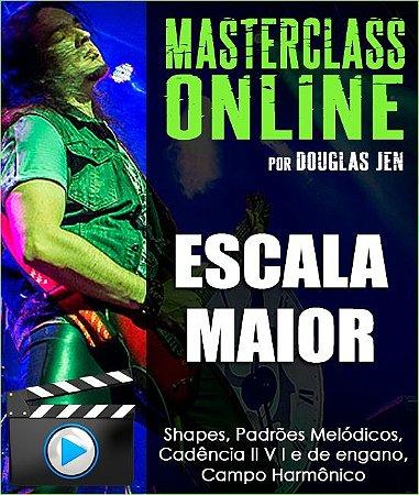 Masterclass online - Escala Maior: Shapes, Padrões Melódicos, Cadências e Campo Harmônico