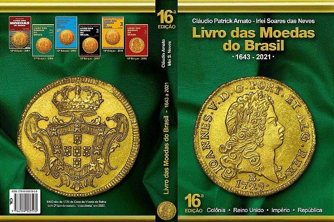Livro das Moedas do Brasil - 16ª edição