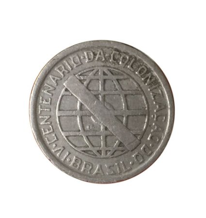 Moeda Antiga do Brasil 200 Réis 1932 - Série Vicentina