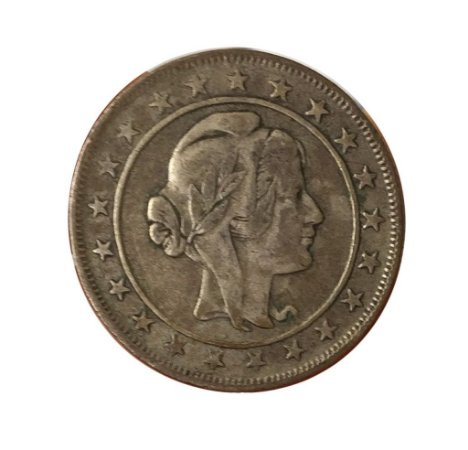 Moeda Antiga do Brasil 2000 Réis 1925