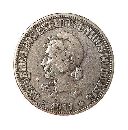 Moeda Antiga do Brasil 1000 Réis 1911