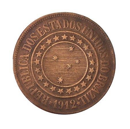 Moeda Antiga do Brasil 40 Réis 1912