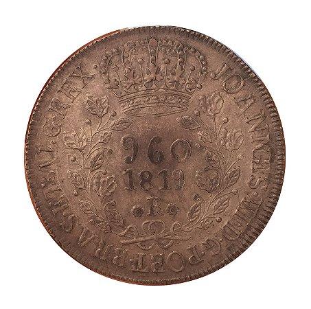 Moeda Antiga do Brasil 960 Réis 1819 R - Reino Unido