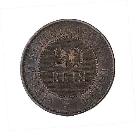 Moeda Antiga do Brasil 20 Réis 1904