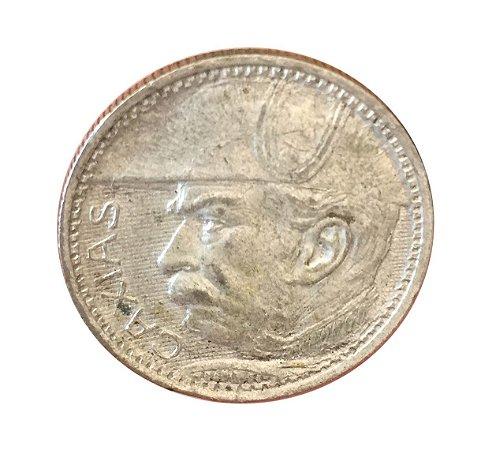 Moeda Antiga do Brasil 2000 Réis 1935 - Duque de Caxias