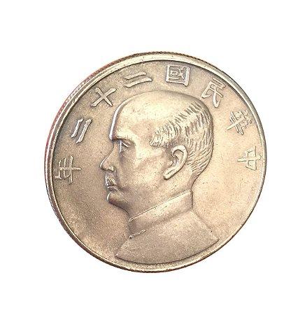 Moeda Falsa da China $1 22(1933)/23(1934)
