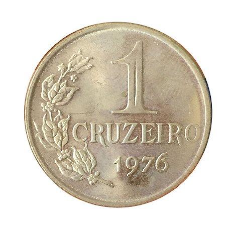 Moeda Antiga do Brasil 1 Cruzeiro 1976