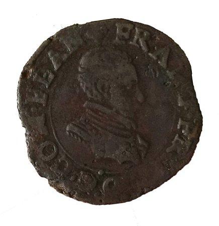 Moeda Antiga da Bélgica Liard, Oord 1581-1583