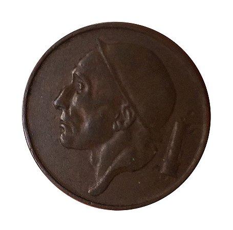 Moeda Antiga da Bélgica 50 Centimes 1953 - BELGIE