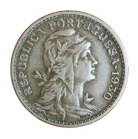 Moeda Antiga de Cabo Verde 50 Centavos 1930