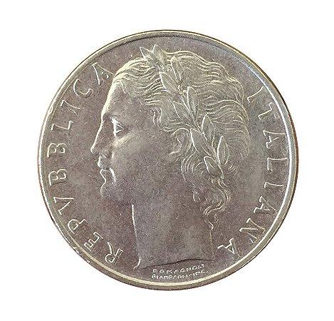 Moeda Antiga da Itália 100 Lire 1964 R