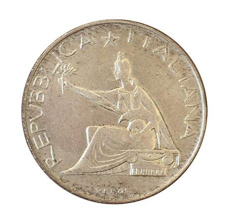 Moeda Antiga da Itália 500 Lire 1961 R