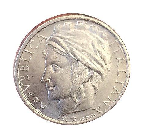 Moeda Antiga da Itália 100 Lire F.A.O. 1995