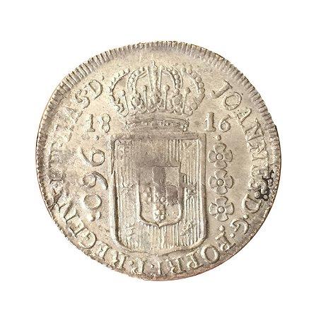 Moeda Antiga do Brasil Colônia 960 Réis 1816 Suposta para São Paulo