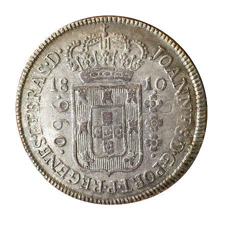 Moeda Antiga do Brasil Colônia 960 Réis 1810 B - REGENES