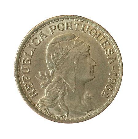 Moeda Antiga de Portugal 1 Escudo 1962