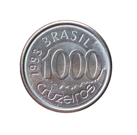 Moeda Antiga do Brasil 1000 Cruzeiros 1993 - Acará