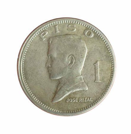 Moeda Antiga das Filipinas Piso 1972