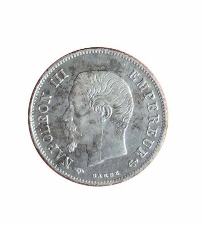 Moeda Antiga da França 20 Centimes 1860 A