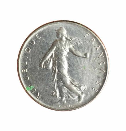 Moeda Antiga da França 1 Franc 1960