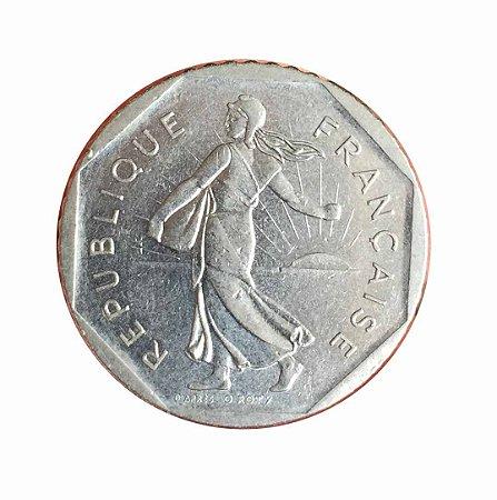 Moeda Antiga da França 2 Francs 1979