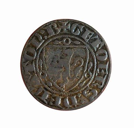 Jeton Antigo da França do Século XIV