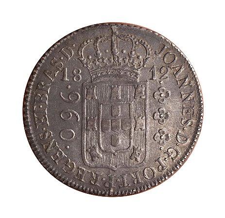 Moeda Antiga do Brasil Colônia 960 Réis 1812 R