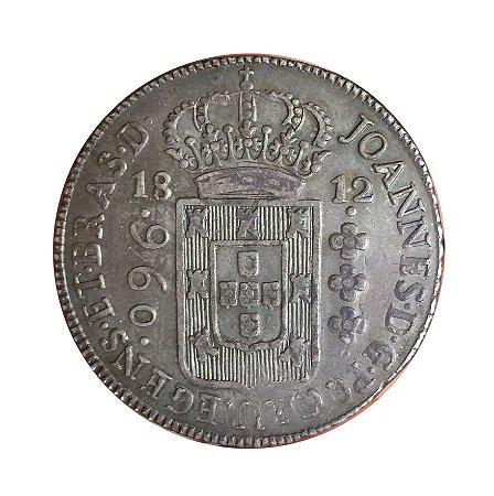 Moeda Antiga do Brasil Colônia 960 Réis 1812 B