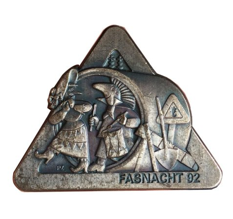 Medalha Antiga da Suíça Carnaval 1992