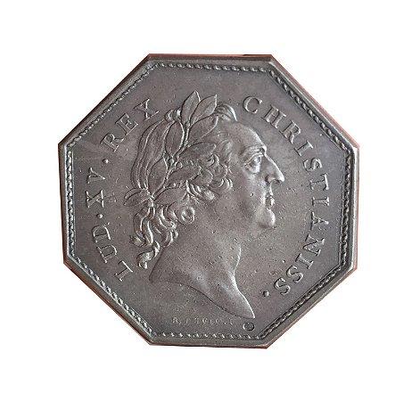 Jeton Antigo da França 1772 - Luís XV