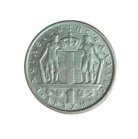 Moeda Antiga da Grécia Drachma 1967