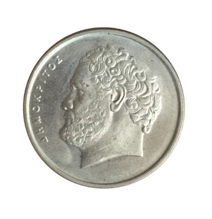 Moeda Antiga da Grécia 10 Drachmes 1986
