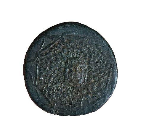 Moeda Antiga da Grécia Pontos Amisos 1177-1191