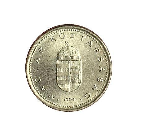 Moeda Antiga da Hungria 1 Forint 1994 - BP