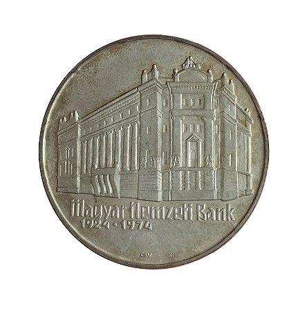 Moeda Antiga da Hungria 50 Forint 1974 - BP