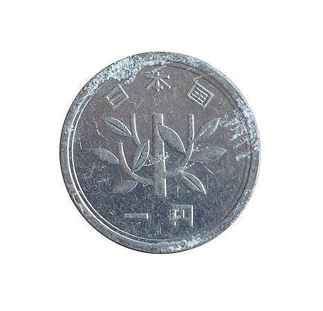 Moeda Antiga do Japão Yen 1955