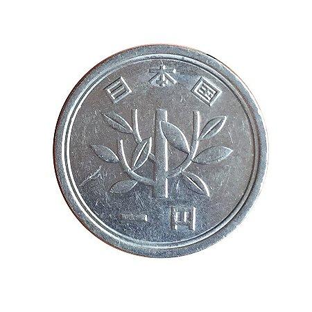 Moeda Antiga do Japão Yen 1989