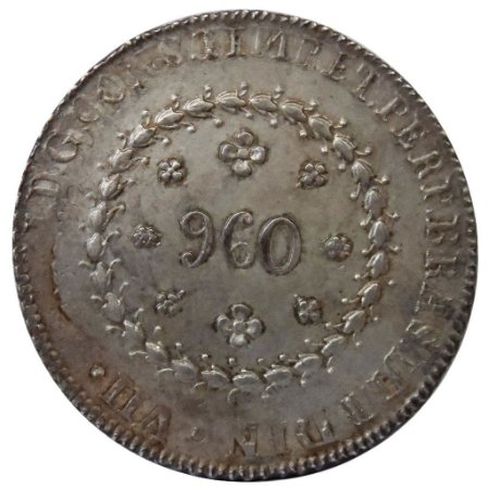 Moeda Antiga do Brasil 960 Réis 1824R